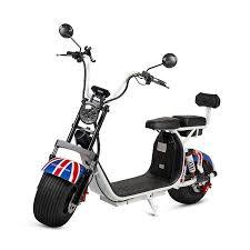 Scooter eléctrico un pasajero.